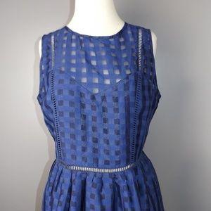 [English Factory] Retro Gingham Dress